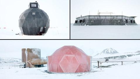 مصور يكشف عن شكل المباني بأقصى شمال الأرض.. كيف ظهرت؟