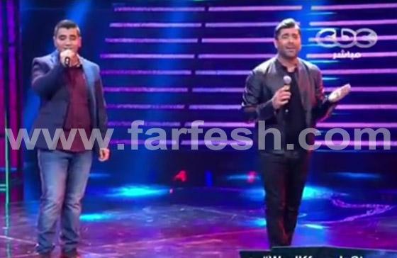صورة رقم 1 - ستار اكاديمي 11: التونسي نسيم رايسي مع وائل كفوري في (يا بكون)